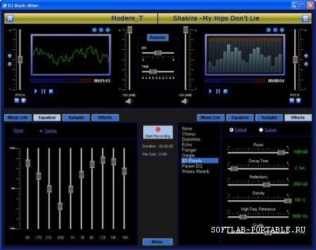 DJ Music Mixer 3.8 Portable