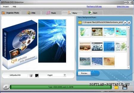 QR Photo DVD Slideshow 3.4.6 Portable