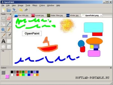 OpenPaint 1.2 Beta Portable