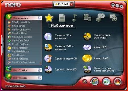 Nero Reloaded 6.6.1.15d Ultra Edition Portable