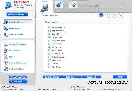 Comodo System Cleaner 2.2.335611.5 Portable