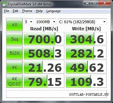 CrystalDiskMark 8.0.2 Portable