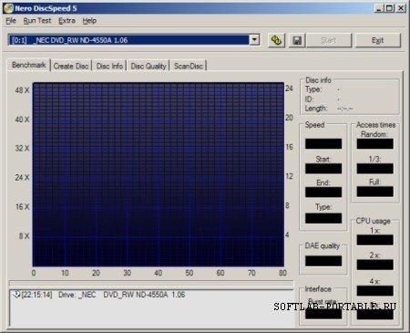 Nero DiscSpeed 5.4.24.100 Portable