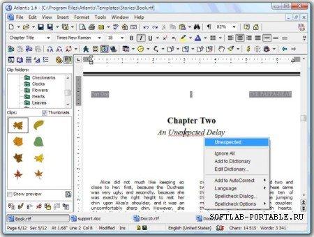 Atlantis Word Processor 4.1.3.2 Portable