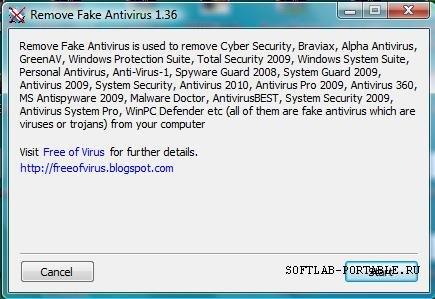 Remove Fake Antivirus 1.98 Portable