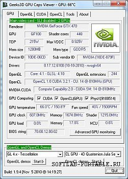 GPU Caps Viewer 1.50.1.0 Portable