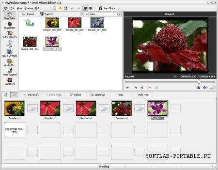AVS Video Editor 9.5.1.383 Portable