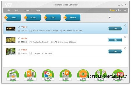 Freemake Video Converter 4.1.13.83 Portable