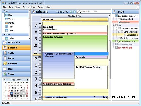 EssentialPIM 9.8 Portable
