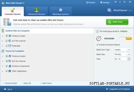 Wise Disk Cleaner 10.4.4 Build 794 Portable