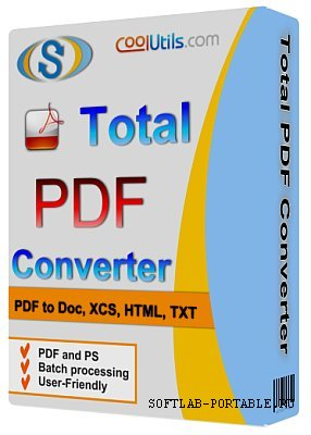 Coolutils Total PDF Converter 6.1.278 Portable