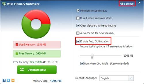 Wise Memory Optimizer 4.1.3.115 Portable