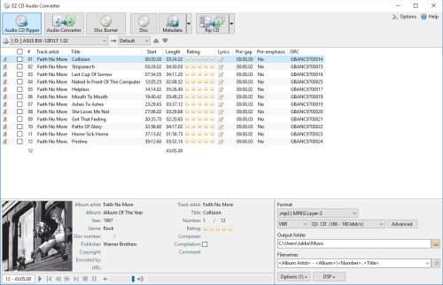 EZ CD Audio Converter 9.3.2.1 Portable
